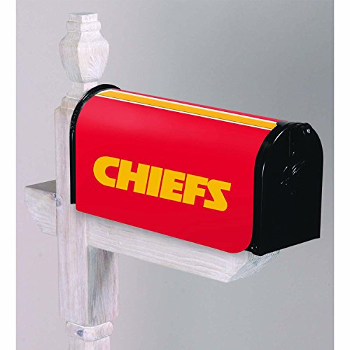 Mailbox Cover Team (NFL Kansas City Chiefs 2MBC3815Kansas City Chiefs, Mailbox Cover, Red)