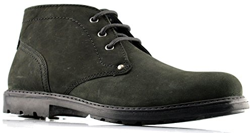 Red Tape Mens Leather Boots Black BmsGD