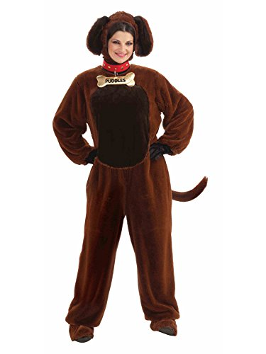 Forum Novelties Puddles The Puppy Costume, Brown, Standard]()