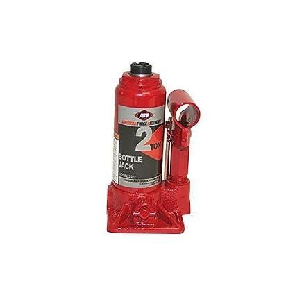 AFF 3506 Red 6 Ton Capacity Bottle Jack