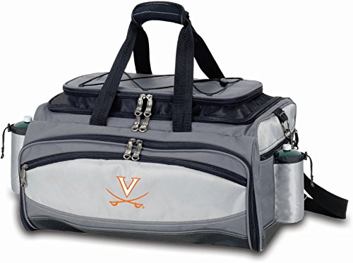 (PICNIC TIME NCAA Virginia Cavaliers Embroidered Vulcan Set, One Size, Black)
