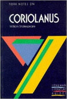 Coriolanus critical essays