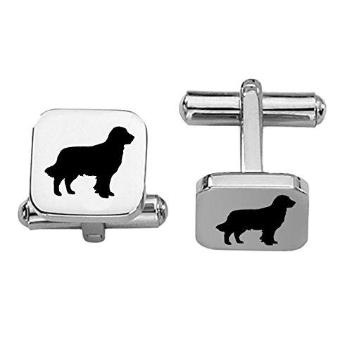 - Golden Retriever Cufflinks | Dog Cuff Links | Stainless Steel