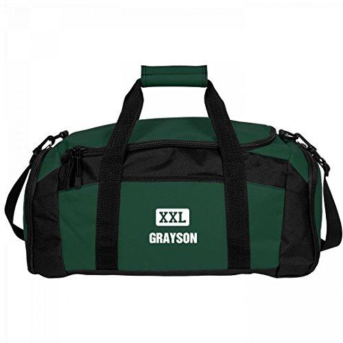Grayson Gets A Gym Bag: Port & Company Gym Duffel Bag by FUNNYSHIRTS.ORG