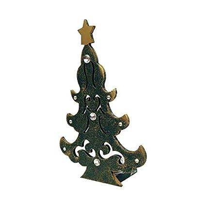 green christmas tree shape tea light stand home dcor 68 x 28 - Amazon Christmas Home Decor