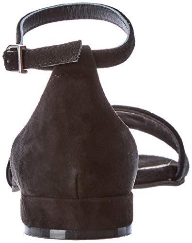 000 negro Punta Nero Donna 48940 Aperta Gioseppo Sandali v6zqpR