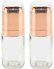 Honey-Can-Do 2-Piece Spice Mill Set, Rose Gold