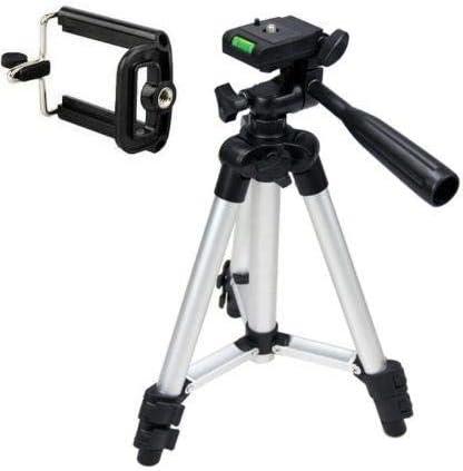 360 Universal Portable Digital Camera Camcorder Tripod Stand Lightweight W/Bag, Mobile Holder