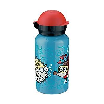 Laken Kukuxumusu 12oz (350 ml) Kids Water Bottle (Ming-Chao Red Cap)