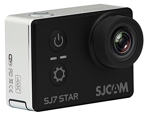 SJCAM SJ7 STAR 4K 12MP 2'' Touch Screen Metal Body Gyro Waterproof Sports Action Camera BLACK by SJCAM (Image #2)