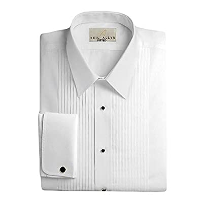 Cheap Neil Allyn Men's 100% Cotton Tuxedo Shirt, Slim Fit supplier