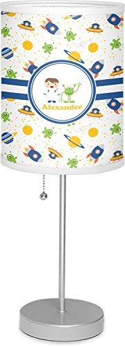 RNK Shops Boy's Space Themed 7'' Drum Lamp with Shade Polyester (Personalized) by RNK Shops (Image #7)