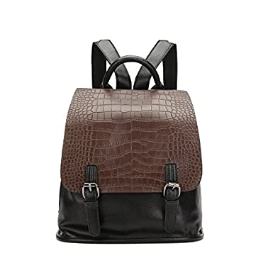 HYP Handmade Leather Tote Bag Travel Bag/&Computer Bag For Women /Lady Case Cover pu backpack ladies