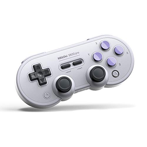 8Bitdo Sn30 Pro Bluetooth Gamepad (Sn Edition) - Nintendo Switch ()