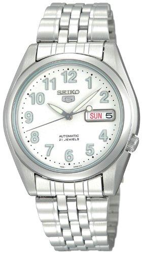 Seiko SKA371P2 Kinetic Dive Watch Black Dial Strap - Intl model of SKA413 Men's Watch