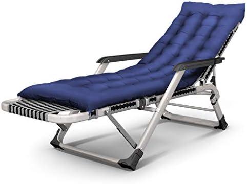 Chaises inclinables à l'extérieur, Chaise Pliante réglable Zero Gravity Lounge, Chaise Pliante de Jardin inclinable, Fauteuil de Salon, lit Bain de Soleil