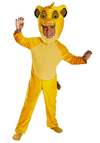 Deluxe Simba Costume - Toddler Large