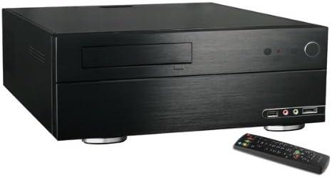 MS-Tech MC-380 HTPC Negro Carcasa de Ordenador - Caja de Ordenador ...