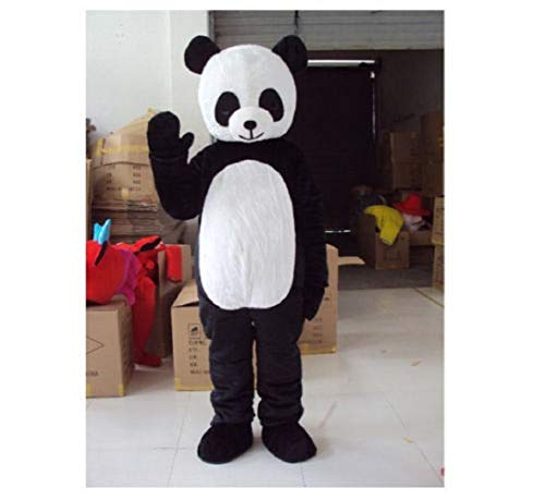 Panda Bear Mascot Costume Adult Size for Height 5'7