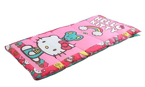 Sanrio Hello Kitty Sleeping Bag, Pink, Light Blue,