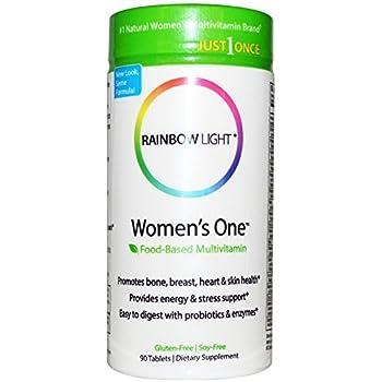 Amazon Com Rainbow Light Women S One Multivitamin 150