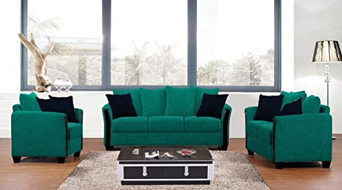 Galaxy Design Euro Sofa Set 6 Person 3 Seater 2 Seater And Single