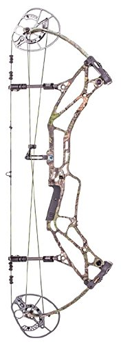 Bear Archery Prowess Rth Compound Bow, 35-50#, Rh, Realtree Xtra Green/Pink Acce