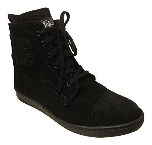Buffalo Boots Sneaker Schuh in schwarz Buffi Serraje Negro NEW Kult Retro 80er