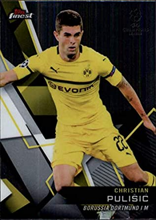3247ec598 2018-19 Finest UEFA Champions League Soccer  90 Christian Pulisic Borussia  Dortmund Official Union