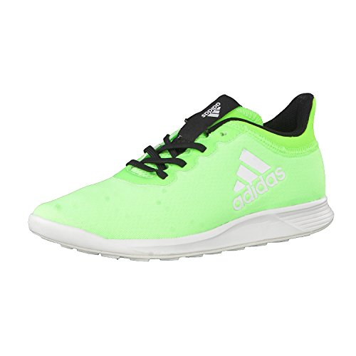 Zapatilla adidas jr X 16.4 TR Solar green-Crystal white-Core black Solar green-Crystal white-Core black