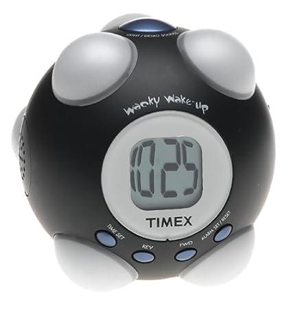 ef72582fb477 Timex t156b Despertador agitar y Encendido Reloj Despertador (Negro ...