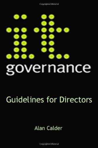 IT Governance: Guidelines for Directors pdf