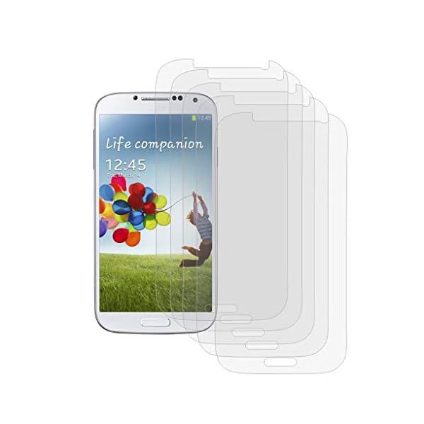Gankmachine Claro de la Pantalla HD de reemplazo película del Protector para Samsung i9500 Galaxy S4 SIV 3