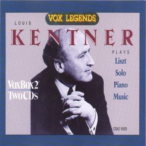 Kentner Plays Liszt Solo Piano Music