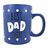 Best Dad Ever KINREX Tea & Coffee Mug 13 oz Gifts for Dad, Father and Grandfather