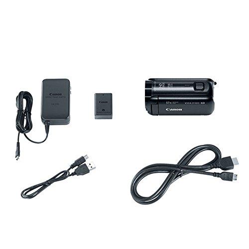 411RAlt juL - Canon VIXIA HF R800 Camcorder (Black) + SanDisk 64GB Memory Card + Digital Camera/Video Case + Extra Battery BP-727 + Quality Tripod + Card Reader + Tabletop Tripod/Handgrip + Deluxe Accessory Bundle