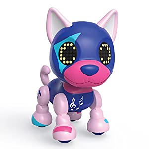 Zoomer Zupps-Tiny Pups Husky Spotlight Toy