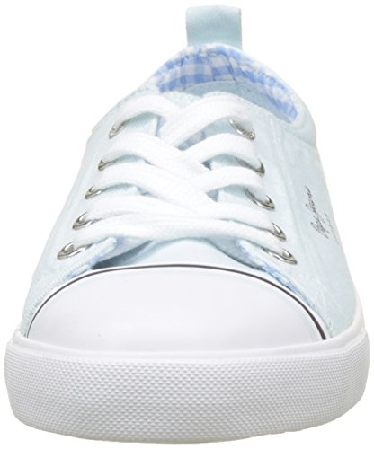 Bleu Gery Basses sky Pepe Sneakers Femme Jeans Bass gqYw7za