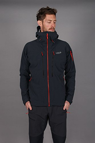 Rab Upslope Jacket - Men's Ebony / Zinc XL for sale  Delivered anywhere in USA
