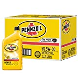 Pennzoil 5W-30 Motor Oil - 1 Quart Bottles - 12 Pack (pack of 6)