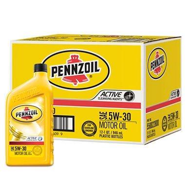 pennzoil-5w-30-motor-oil-1-quart-bottles-12-pack-pack-of-2