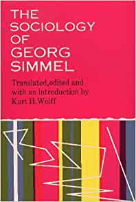 summary of georg simmel Sociologist georg simmel published his magnum opus, the philosophy of money, in 1900 in germany drawing on kant, marx, and weber among many, many others, the.