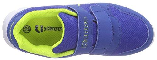 Kappa Unisex-Kinder Note Kids Low-Top Blau (6033 blue/lime)