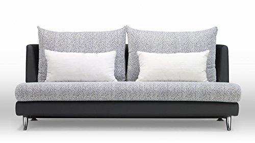 Zuri Furniture Palms Modular Sectional 3 Seater Sofa   Black