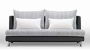 Palms Modular Sectional 3-seater Sofa - Black