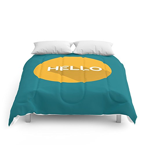 Society6 Hello Comforters King: 104