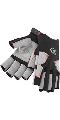 Henri Lloyd Deck Grip Sailing Short Finger Glove 2017 - Black XS