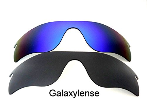 Galaxy Replacement Lenses For Oakley Radarlock Path Black&Blue Polarized,2 - Polarized Path Radarlock
