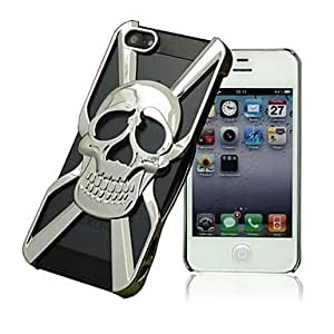 LZX Hollow Out Skull Back Case for iPhone5/5S (Assorted Color)