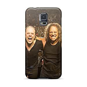 Protective Cell-phone Hard Cover For Samsung Galaxy S5 With Provide Private Custom Lifelike Metallica Band Skin AlissaDubois
